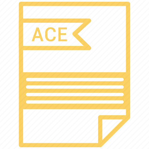ace, contract, cv, file, resume icon