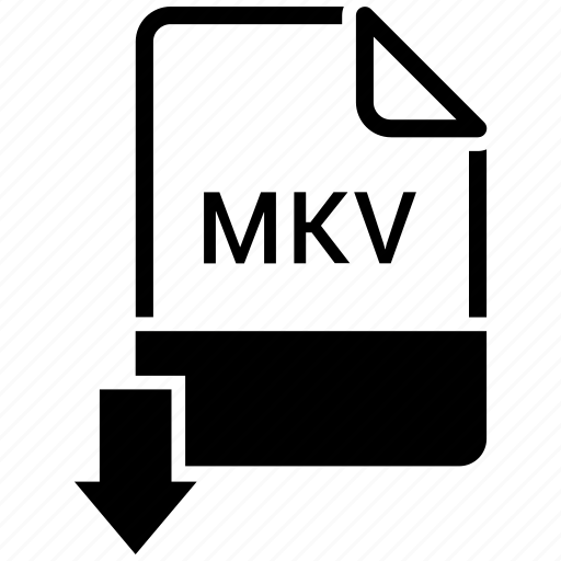 document, file, letter, mkv, page icon