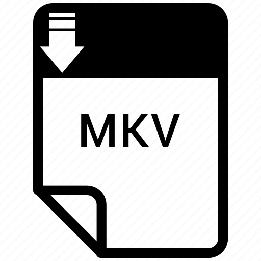 document, file, format, mkv icon