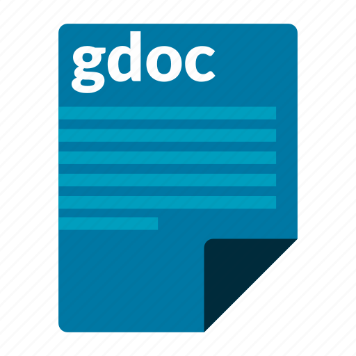 document, file, format, gdoc icon