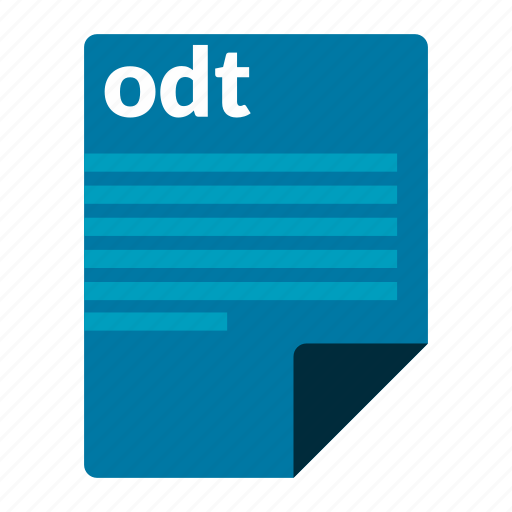 document, file, format, odt icon