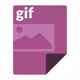 file, format, gif, image, media icon
