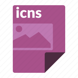file, format, icns, image, media icon