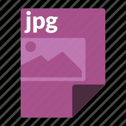 file, format, image, jpg, media icon