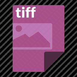 file, format, image, media, tiff icon