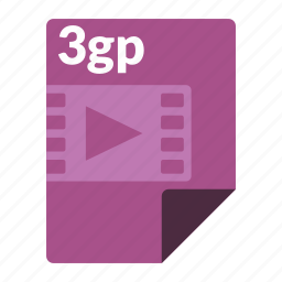 file, format, media, video icon
