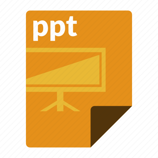 file, format, powerpoint, ppt, presentation icon