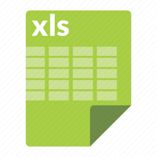 excel, file, format, spreadsheet, xls icon