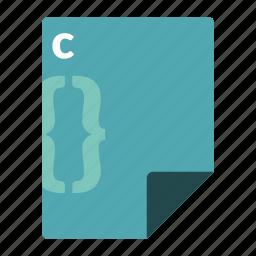 c, code, file, format, language, programming icon