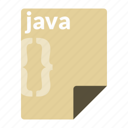 code, file, format, java, language, programming icon