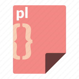 code, file, format, language, perl, pl, programming icon