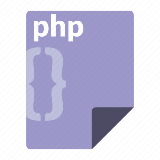 code, file, format, language, php, programming icon