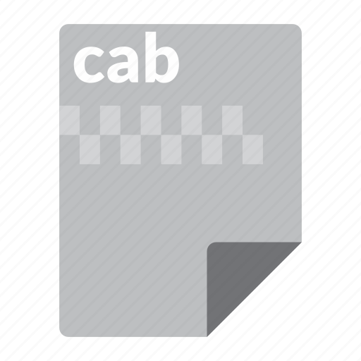 archive, cab, compressed, file, format icon