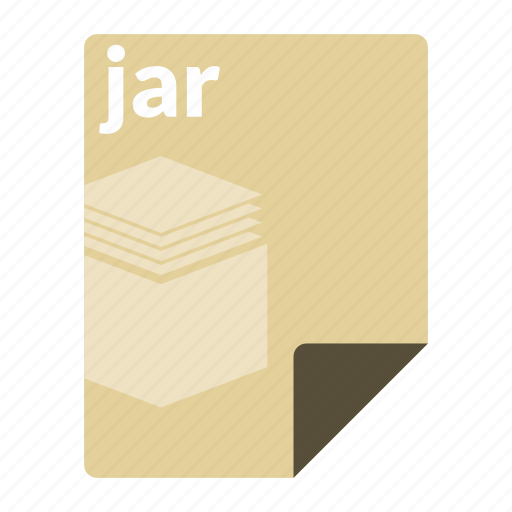archive, file, format, jar, java icon