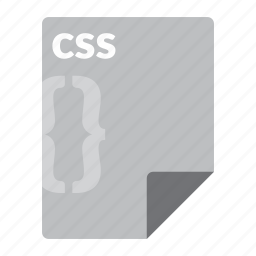 code, css, file, format, web icon