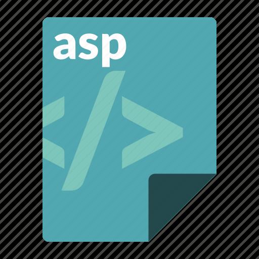 asp, file, format, language, web icon