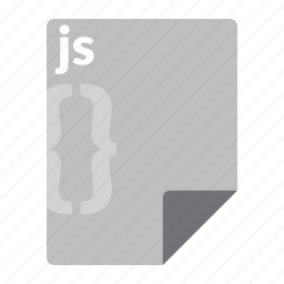 file, format, javascript, js, script, web icon