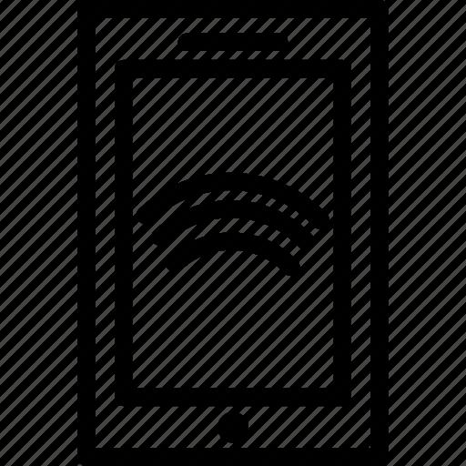 communication, mobile, wifi icon