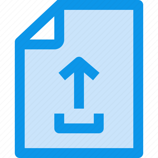 archive, business, document, file, paper, upload icon