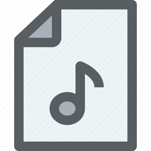 archive, business, document, file, music, paper icon