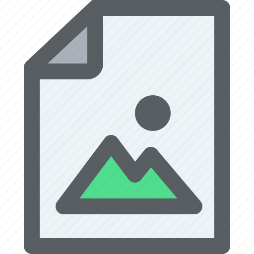 archive, business, document, paper, picture icon