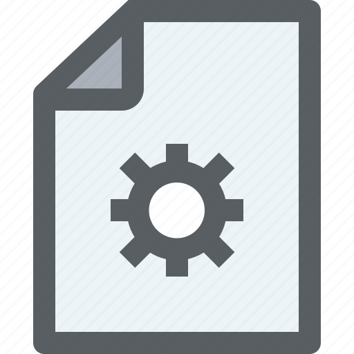 archive, business, document, file, paper, process icon