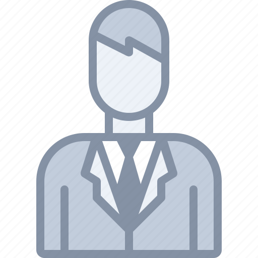 business, man, manager, office, tie, user icon