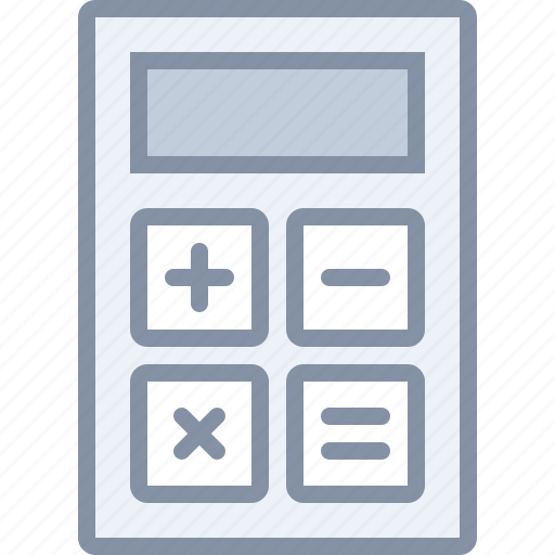 accounting, business, calculator, math icon