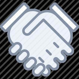 business, deal, hands, handshake, partner, trust icon