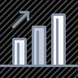 analytics, chart, diagram, income, statistics icon