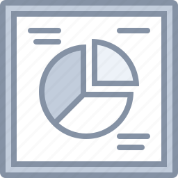 business, chart, graphics, pie, statistics icon