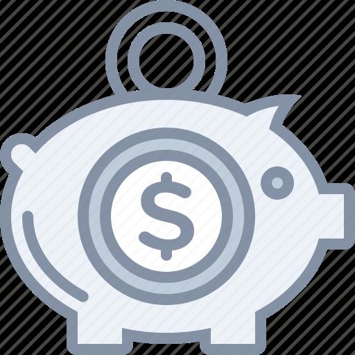bank, business, cash, deposit, money, piggy, savings icon