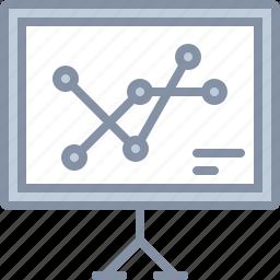 analytics, board, business, chart, diagram, statistics icon