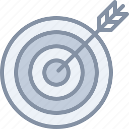 archery, arrow, business, game, sports, strategy, target icon