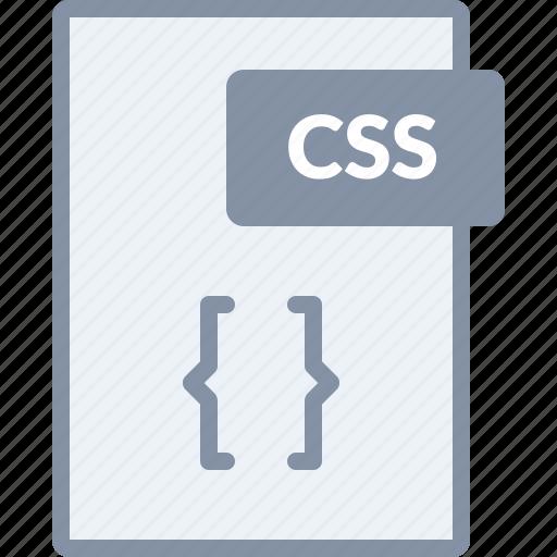 coding, css, design, document, file, paper, web icon
