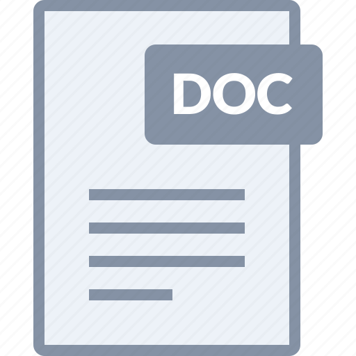 doc, document, file, paper, text, word icon