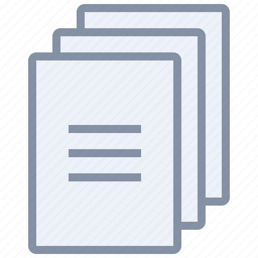 copy, document, documents, file, paper icon