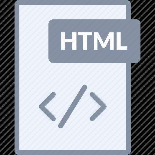 code, design, document, file, html, programming, web icon