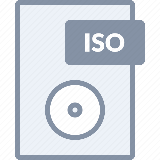 burn, disc, document, file, image, iso, paper icon