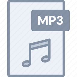 audio, document, file, mp3, multimedia, music, sound icon