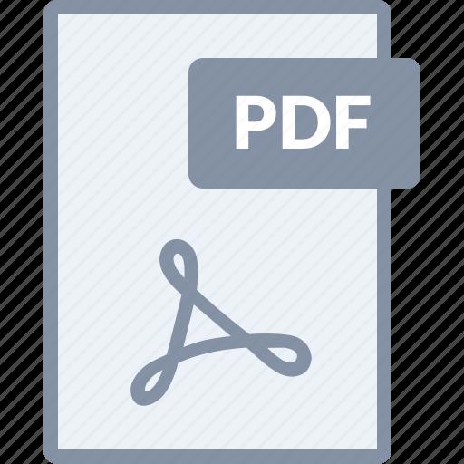 adobe, document, file, paper, pdf icon