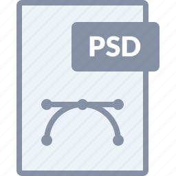 design, document, file, paper, photoshop, psd icon