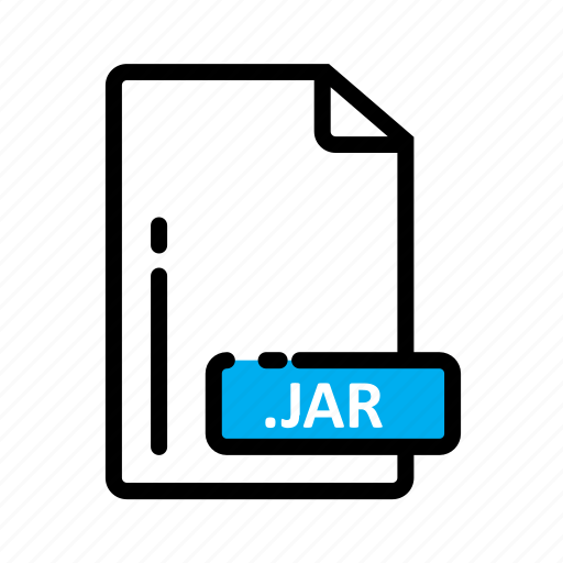 Document, extension, file, format, jar icon - Download on Iconfinder