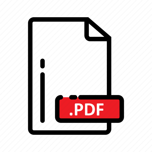 Document, extension, file, format, pdf icon - Download on Iconfinder