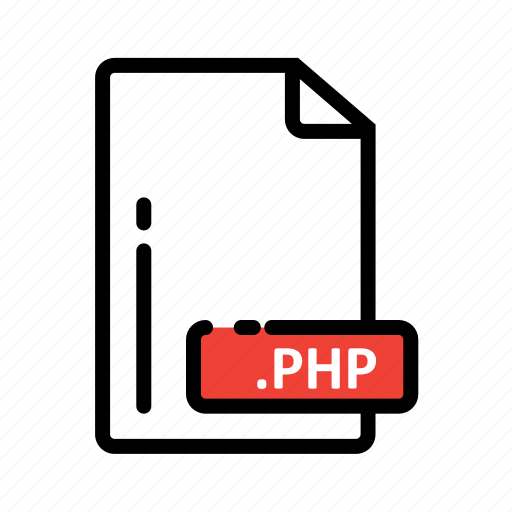 Document, extension, file, format, php icon - Download on Iconfinder