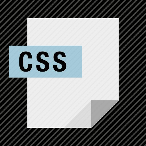 css, document, file, filetype, stylesheet icon