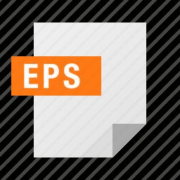 document, eps, file, filetype icon