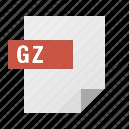 document, file, filetype, gzip icon