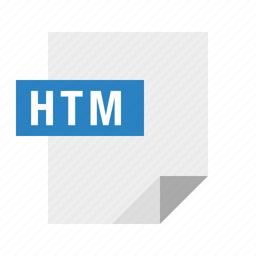 document, file, filetype, htm, html icon