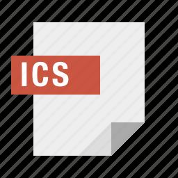 document, file, filetype, ics icon